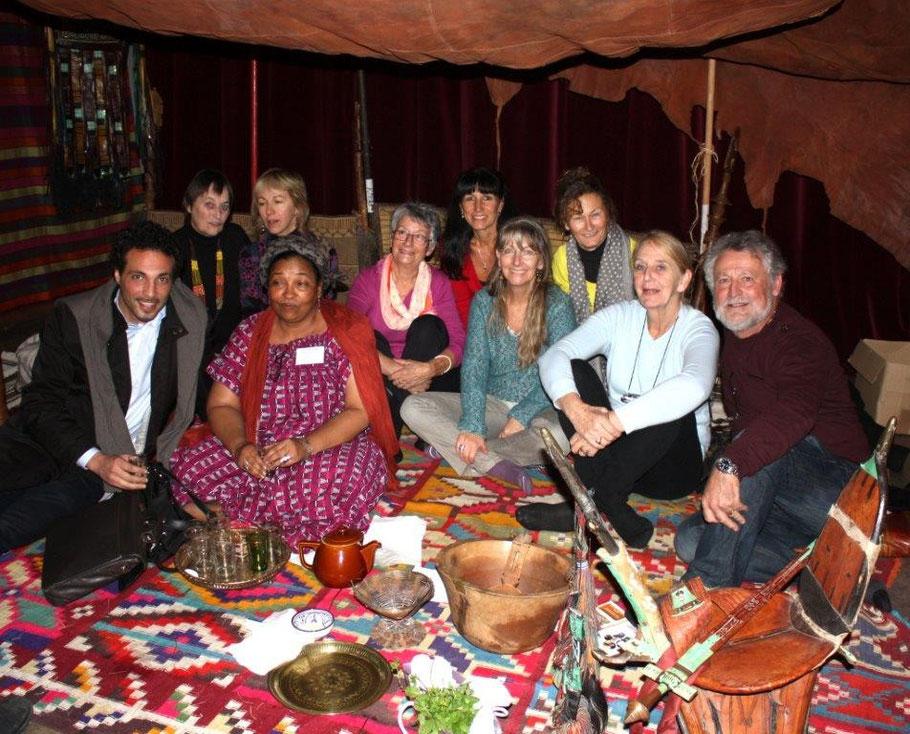 A Privas Mariama a servi le thé à la menthe