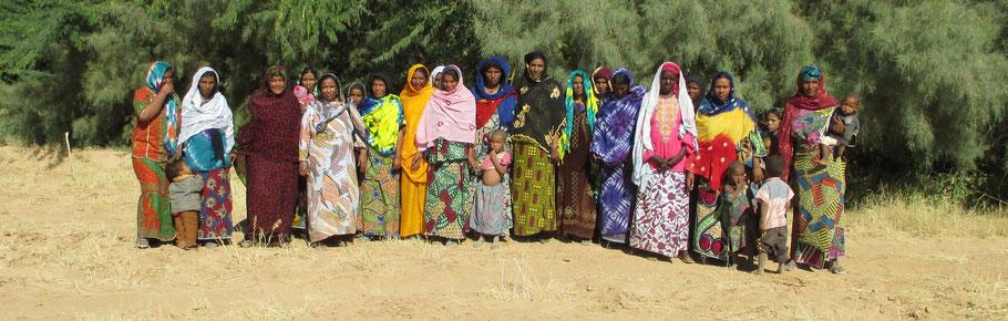 Le groupement de femmes de Boudari