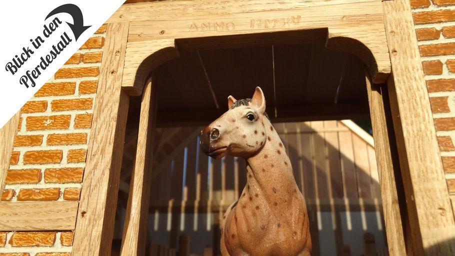 Pferdestall für Schleich