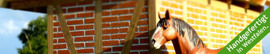 Pferdehof mit Zubehör