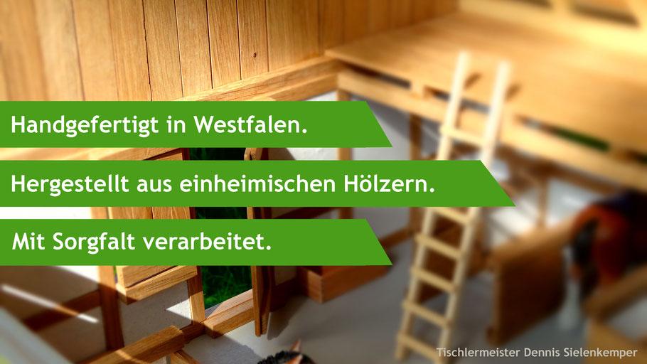 Reiterhof aus Holz