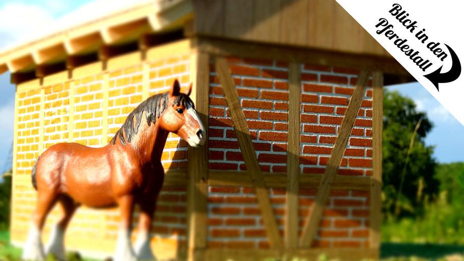 Maßstab von Schleich Pferden