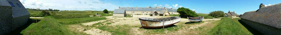 Kerlouan : le village de Meneham (1). © Christophe Pluchon