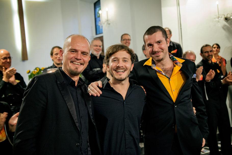 Thomas Gwosdz, Hannes Feder, Jacek Moczulski_____Foto: Sebastian Stahlke