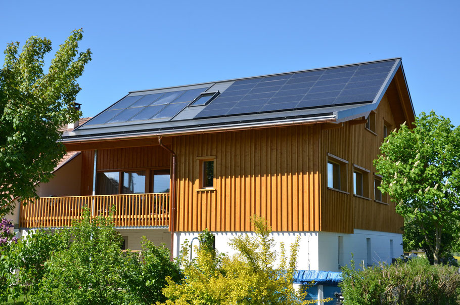 Photovoltaikdach Richard & Rita Brusa, Grosswangen
