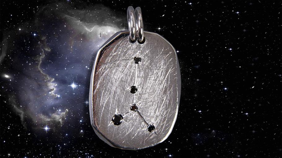 Sternzeichen Krebs Silber