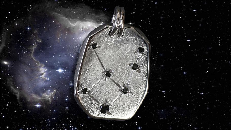Jungfrau Sternzeichen Silber