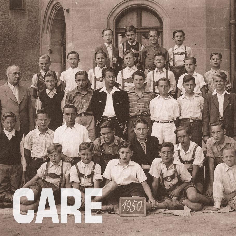 Georg junior und seine Schulklasse in Nürnberg 1950