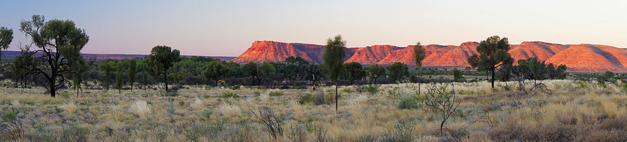 Kings Canyon, Sunset, Australia