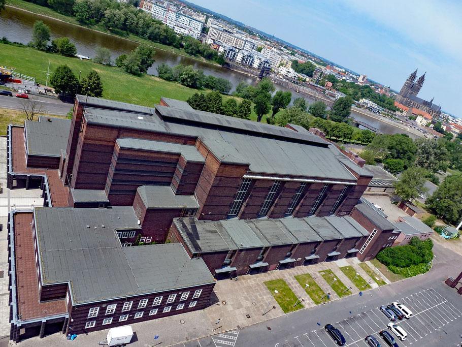 Luftaufnahme und Dachbereich 2017