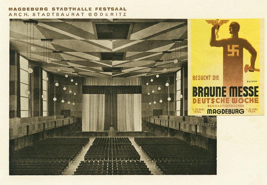 Festsaal der Stadthalle