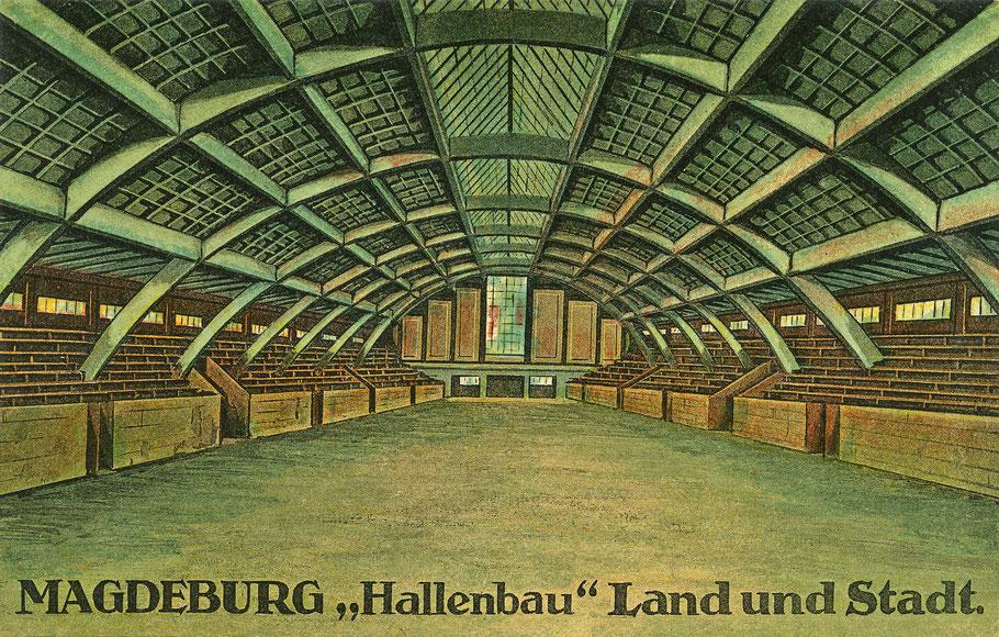 Hermann-Gieseler-Halle in Magdeburg