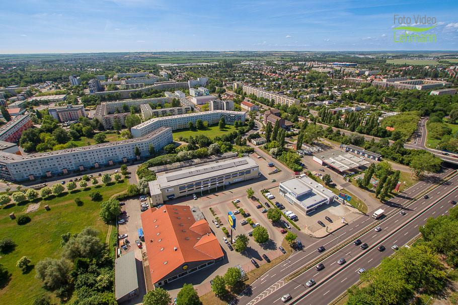 Heute liegt das ehemalige Firmengelände am Magdeburger Ring.