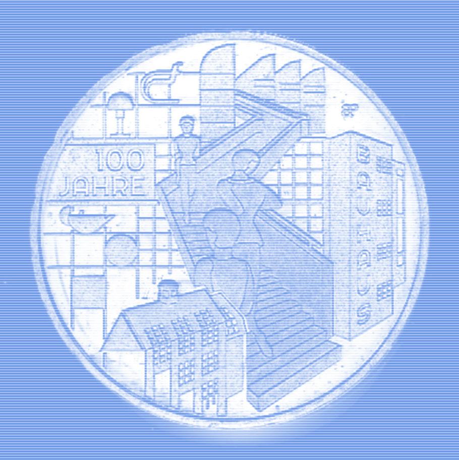 20 Euro Münze zum 100-jährigen Bauhausjubiläum