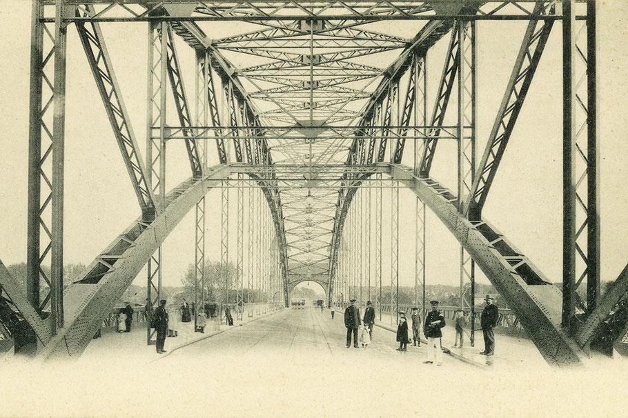 Baudenkmal: Königsbrücke in Magdeburg