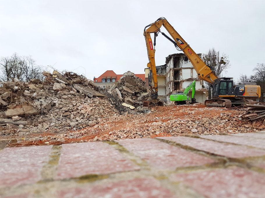 Göderitz-Bau weicht Herzzentrum des Uniklinikums Magdeburg