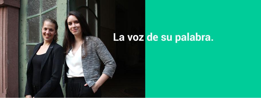 Julia Schulte y Marike Telgen. Intérpretes de conferencias y traductoras profesionales.
