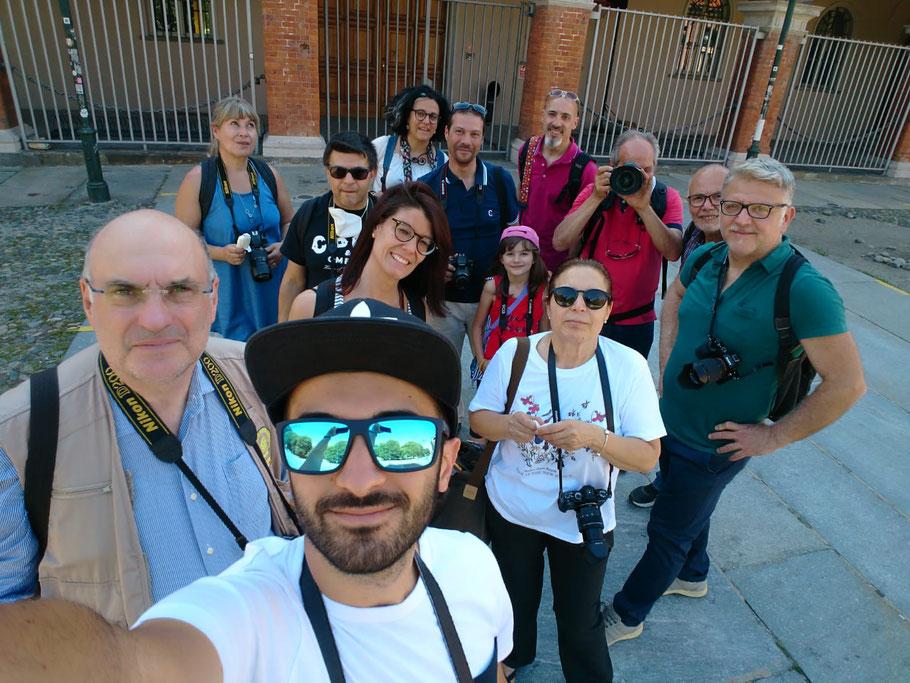I Soci che hanno partecipato all'uscita fotografica domenica 21 giugno a Torino