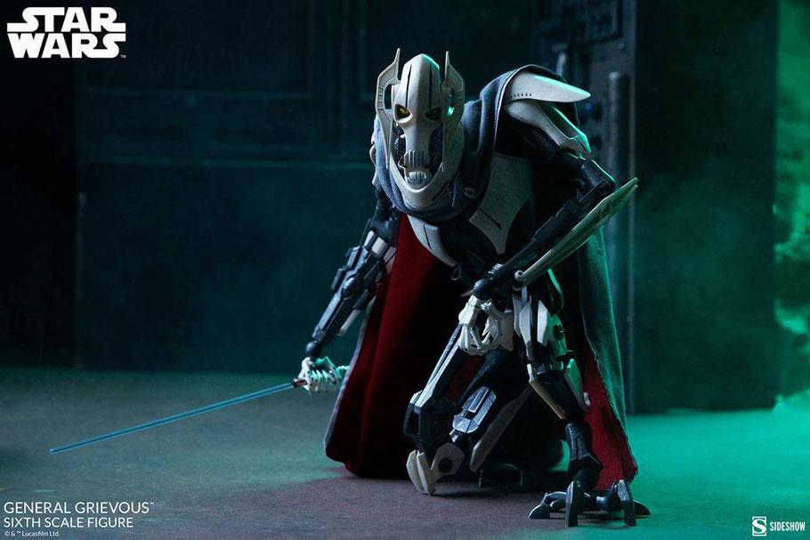 General Grievous 1/6 Star Wars Actionfgur 41cm Sideshow