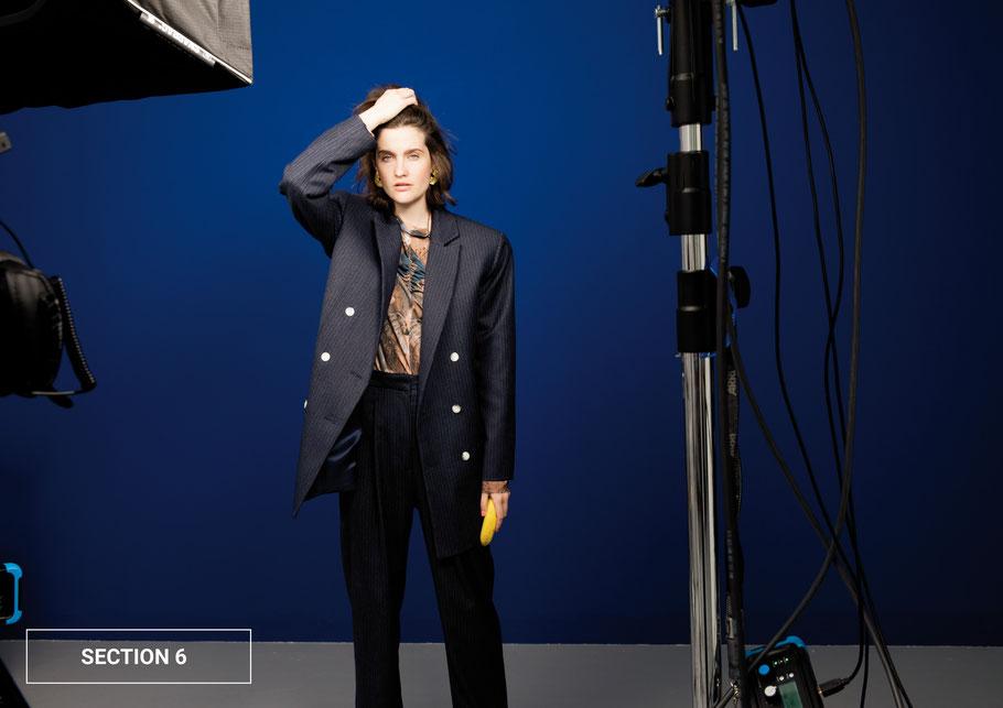 MIOMARTHA summer blazer light blue Editorial 2020