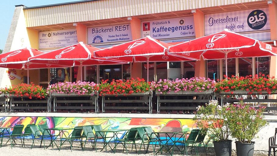 Der Nahversorger - die Greisslerei mit Eis-Greissler im Strandbad Klosterneuburg