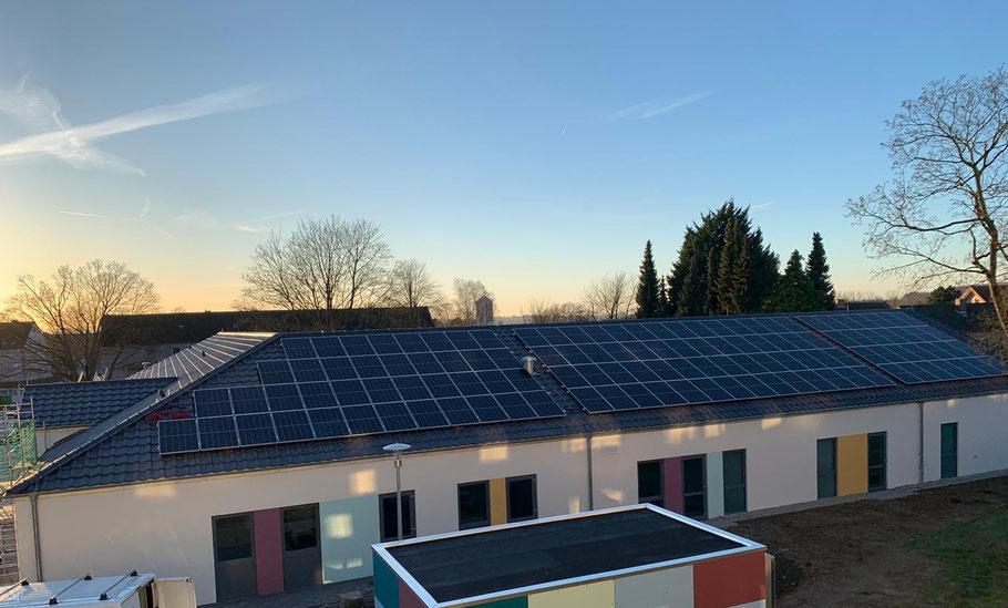 Photovoltaik auf Kindergarten-Dach