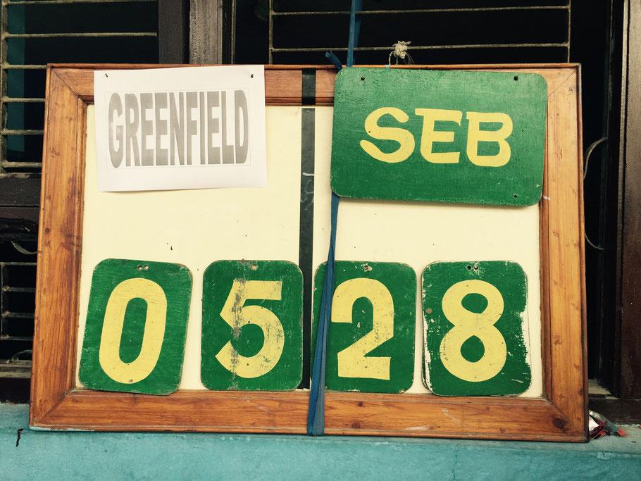 Und? Haben wir Greenfield zermalmt? What a question …