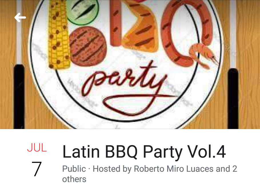 Latin BBQ Party Vol.4