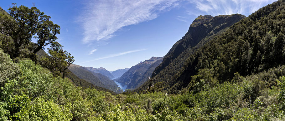 Blick in den Doubtful Sound