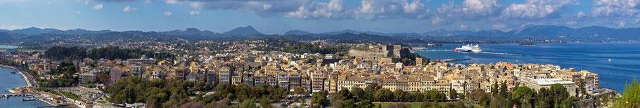 Kerkyra / Korfu Stadt