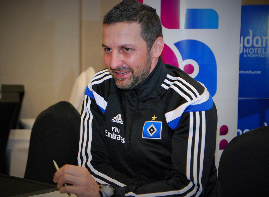 HSV-Coach Joe Zinnbauer