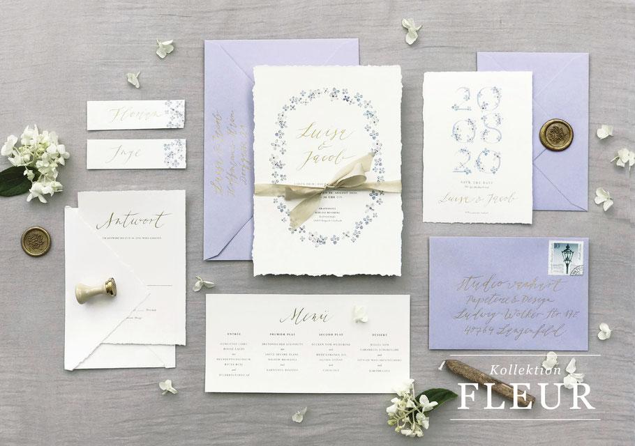 """Hochzeitspapeterie von studio vanhart – Kollektion """"Marble"""" – www.studiovanhart.de"""