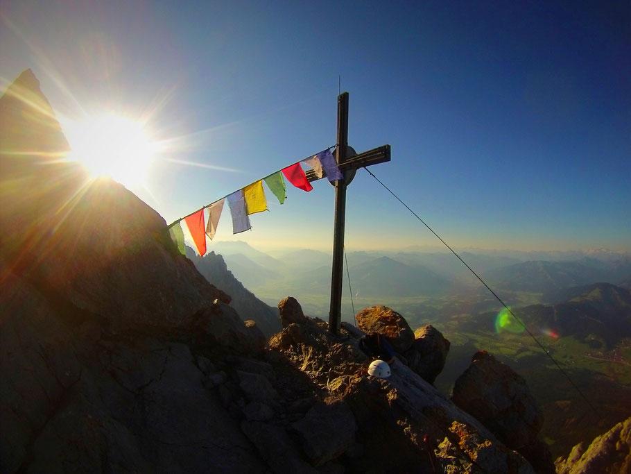 Klettersteig Wilder Kaiser Ellmauer Halt : Ellmauer halt berichte zu berg ski und rad touren