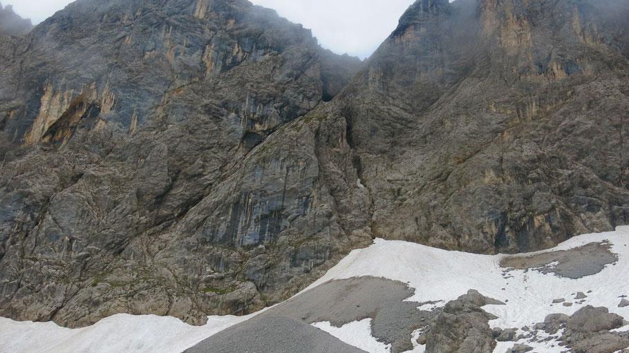 Klettersteig Lamsenspitze : Lamsenspitze mitterspitze berichte zu berg ski und rad touren