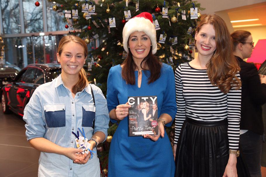 Mira und Nadja von Mrs.City mit Annika de Buhr