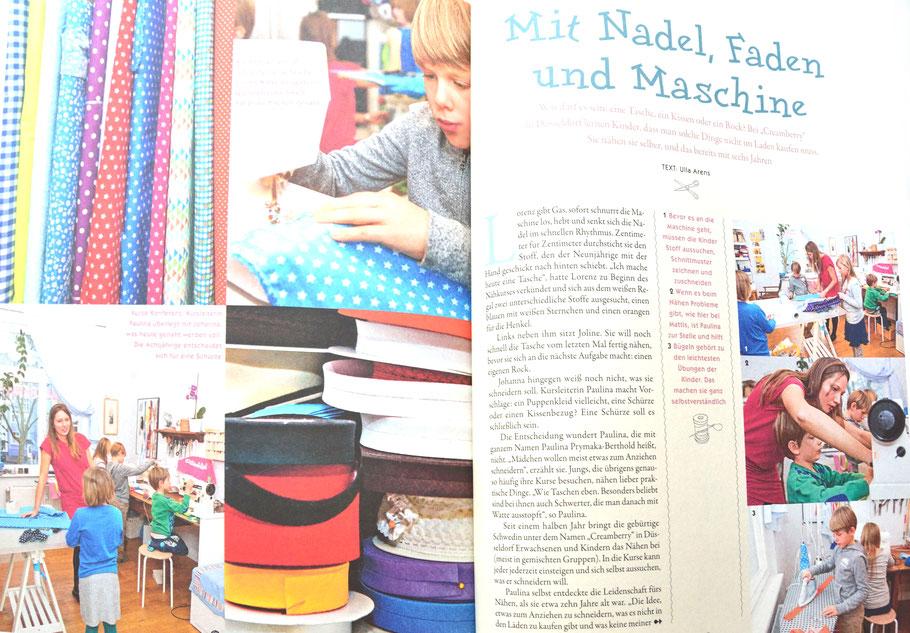Eltern bericht von Kindernähkurse in Düsseldorf