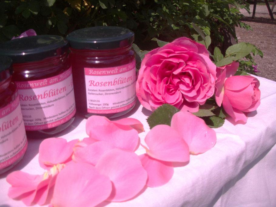 Rosenblütengelee - unser beliebtestes Produkt