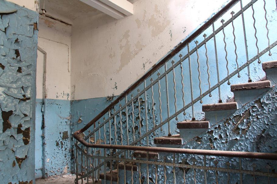Verfallene Treppenhäuser