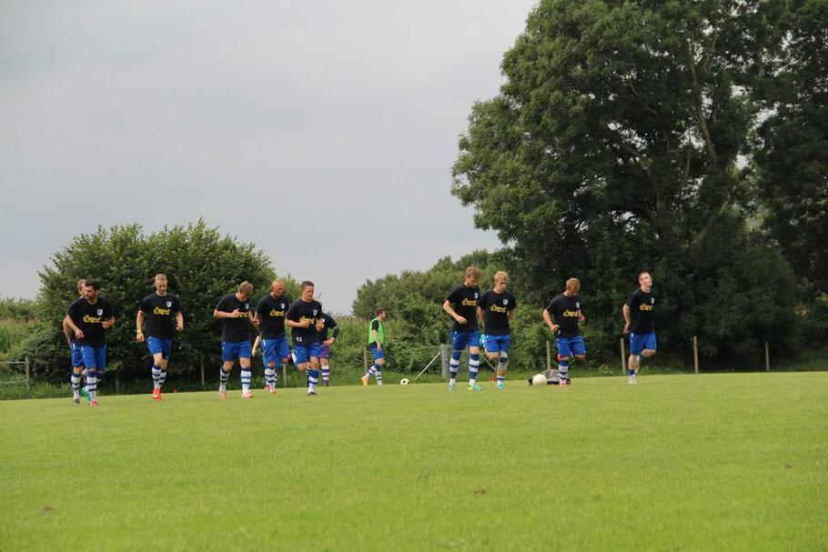 TSV Neudorf-Bornstein Liga Warm up Saison 2014-2015