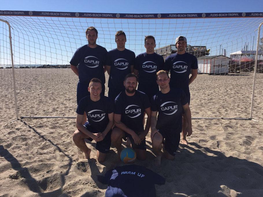 Beach Soccer warm up Ultima reserva do brasil 2016