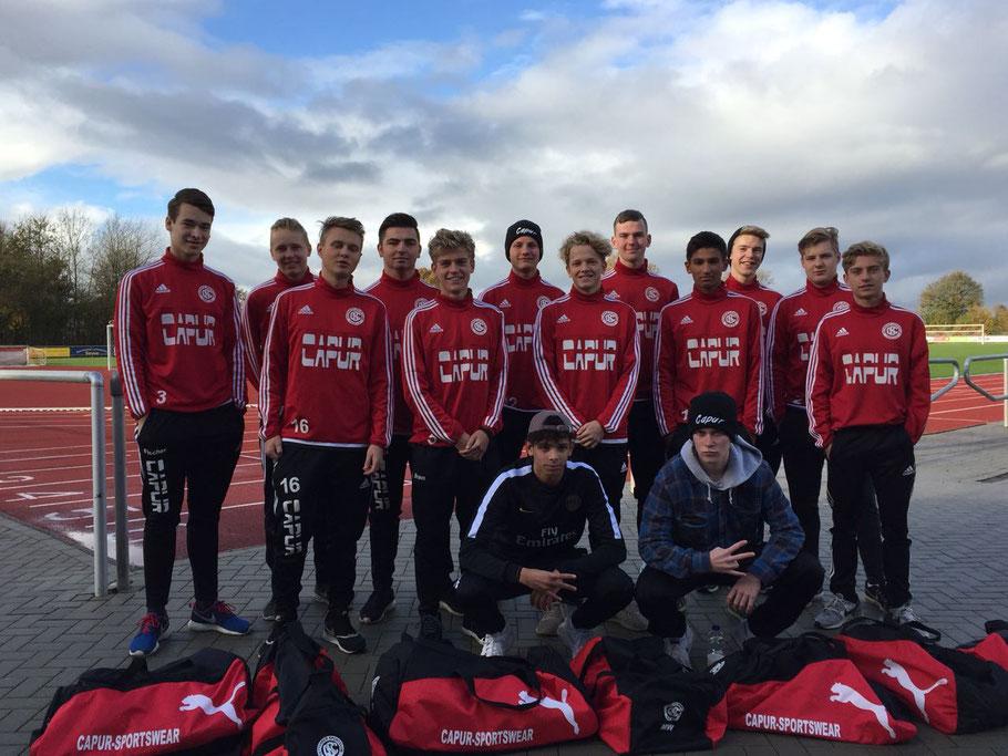 Gettorfer SC A-Jugend Saison 2017/2018
