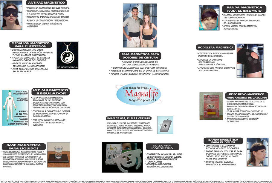 PRODUCTOS MAGNALIFE