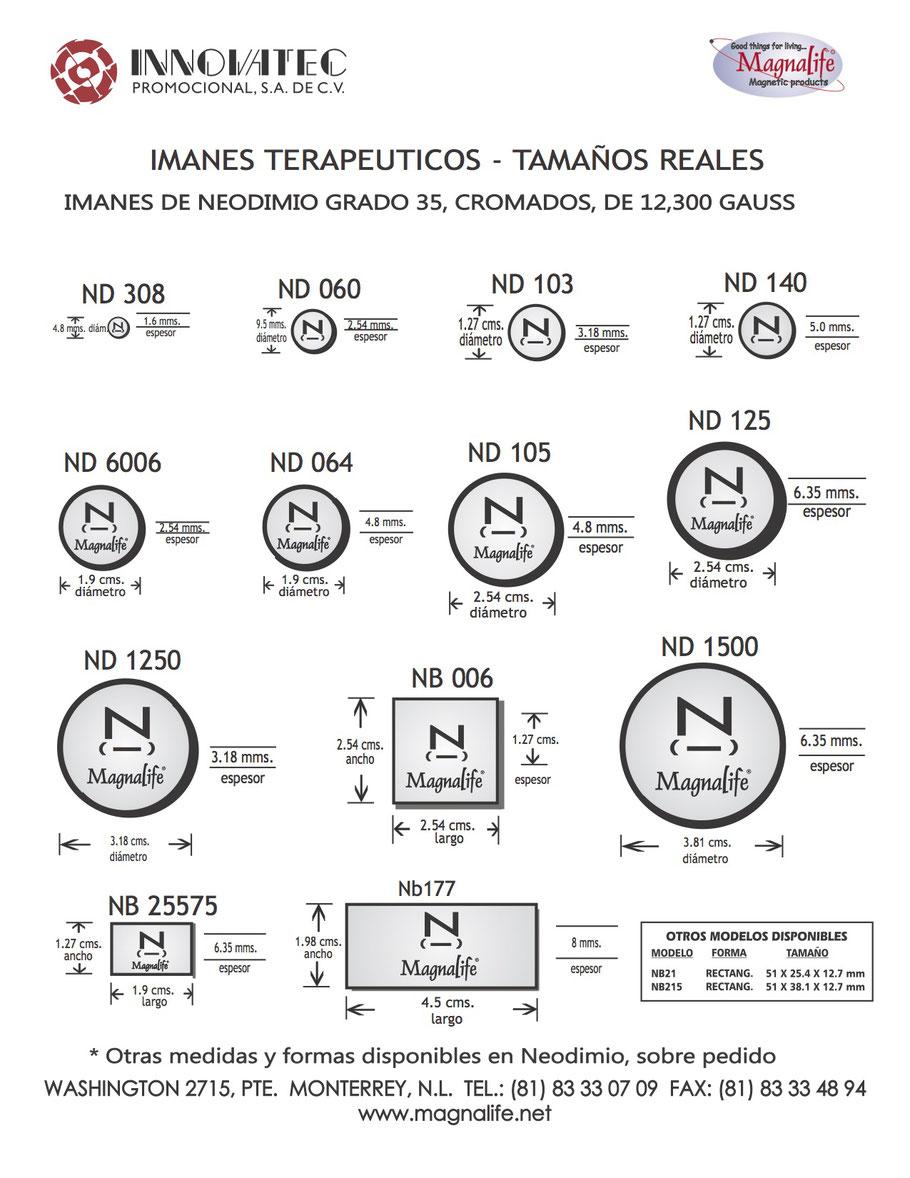 IMANES TERAPEUTICOS DE NEODIMIO