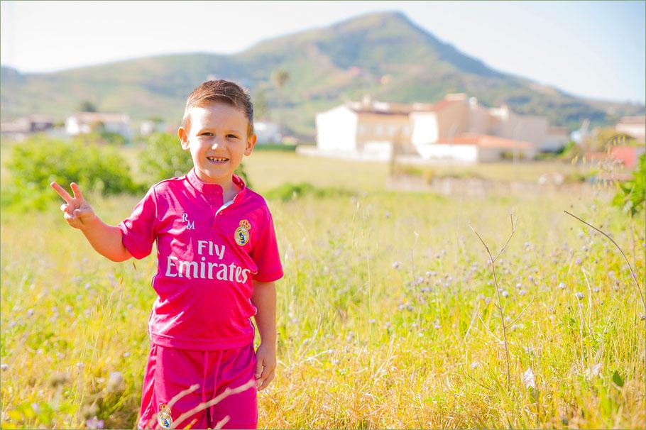 reportajes fotográficos de niños en Tenerife
