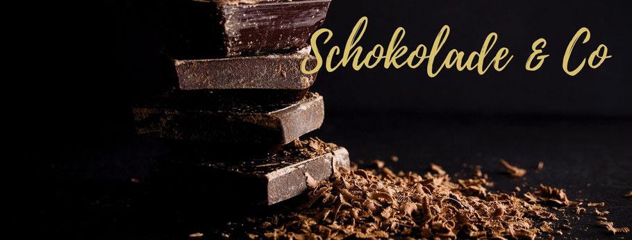 Schokolade , Bonbons, Lakritz (Lakrids) und vieles Süßes mehr
