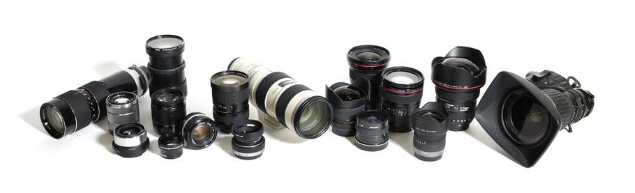 Kameraverleih Videoobjektive Fotoobjektive