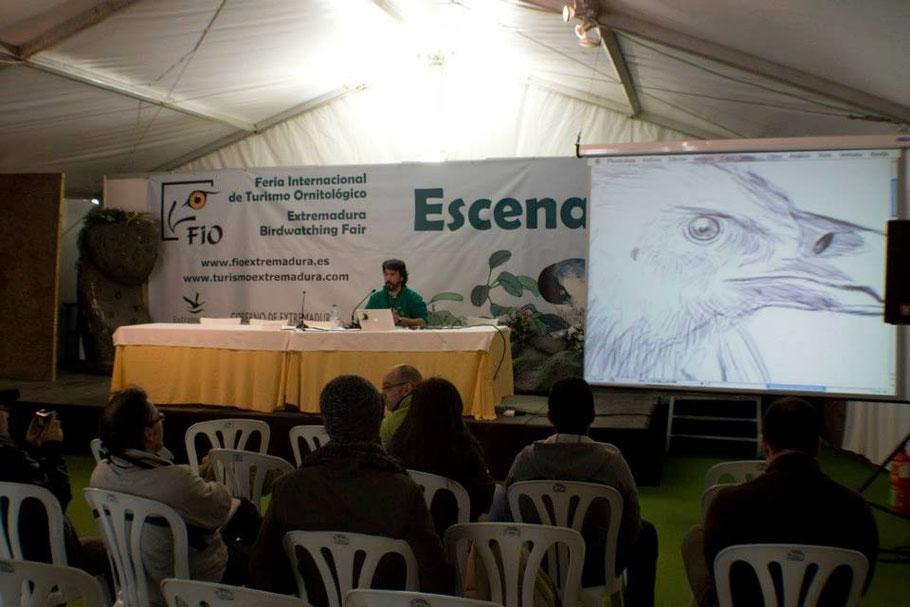 """Conferencia en FIO 2014: """"Técnicas digitales en Ilustración de Naturaleza"""""""
