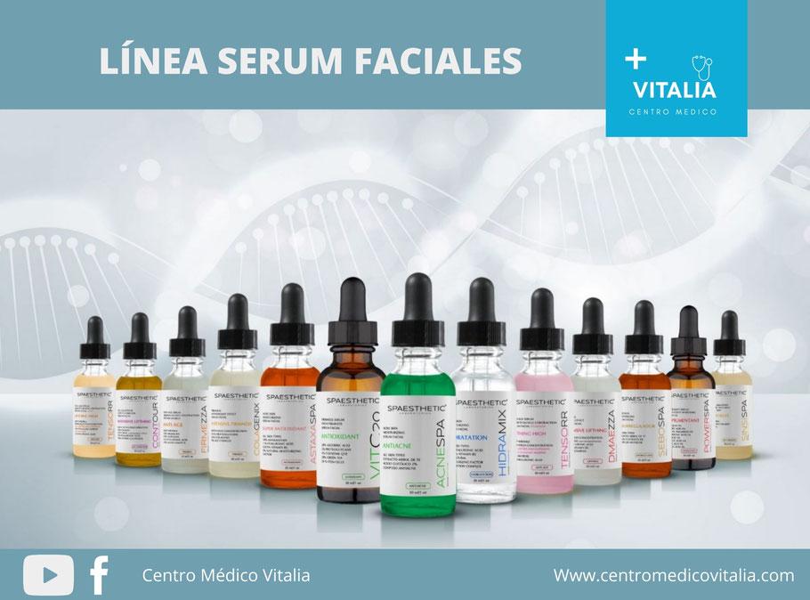 Speaesthetic línea de serum faciales, anti edad, colágeno, vitaminas c, despigmentantes.