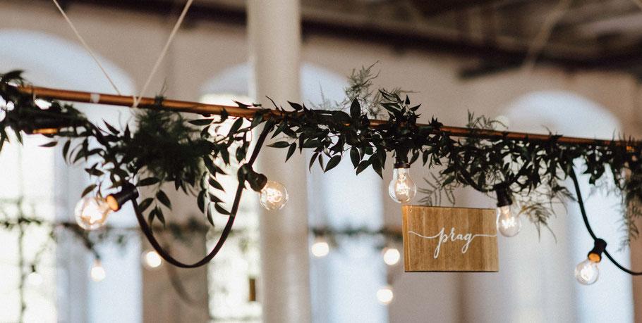 Lichterketten Hochzeit mieten leihen