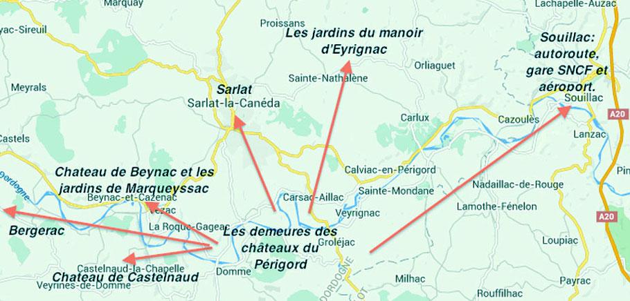 Location Vacances Périgord, au centre de tous les sites touristiques -  Les Demeures des Châteaux du Périgord Noir